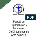 Manual de Organización y Funciones Das