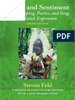 Sound and Sentiment - Steven Feld