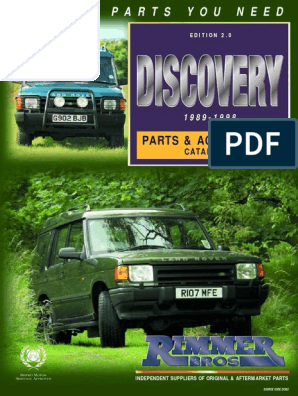 Land Rover Discovery 200 300 TDi Rear Window Washer Jet PRC6496