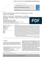 Protective and therapeutic effects of fucoxanthin against sunburn caused by UV irradiation