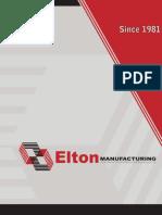 Elton Manufacturing Catalog