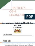 Chapter 1 - OSH Legislation.pptx