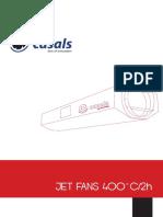 JetFan - Catalogo - Nuevo Casals - Datos Técnicos
