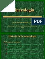 Clase 1. Mineralogía-Historia, Definiciones