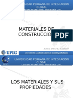Sesion 1 - Materiales de Construccion