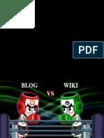Presentacion Blog vs Wiki