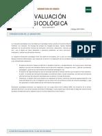 Guia Evaluacion Psicologica 16-17
