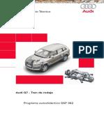 Manual Audi q7 Tren Rodaje