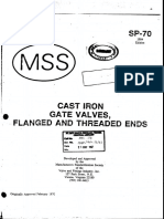 MSS-SP-70-Cast Iron,Gate Valves,Flanged and Threaded End