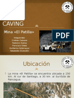 Block Caving Patilla Finalisimo