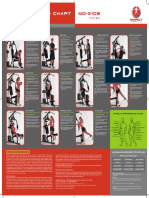 Weight Machine Exercise chart