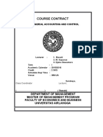 Accounting Management Contract