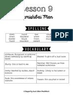 Lesson 9 Study Guide