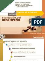 Evaluacion Del Desempeño i 2016