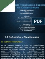 1.1 Definicion Clasificacion