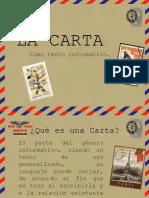 la carta-