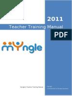 Myngle Teacher Training Manual - 2011