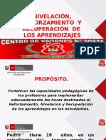 NIVELACIÓN Y REFORZAMIENTO.ppsx