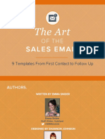 The Art of the Sales Email