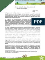 Degradacion Tierras Colombia