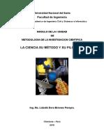 Modulo de i Unidad de Metodologia de La Investigacion Cientifica