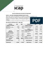 Guia de Ejercicios de Analisis Finaniciero