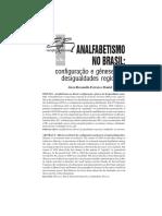 Analfabetismo en Brasil