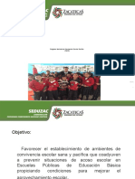 Programa Nacional de Convivencia Escolar Paci_ficaENERO