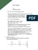 Solution 1- DFA