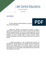 Historia Del Centro Educativo