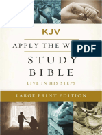 KJV Apply the Word Study Bible, Large Print - 2 Corinthians