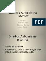 SLIDE-Direitos Autorais Na Internet