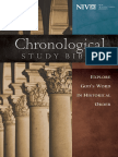 NIV the Chronological Study Bible - Epoch One