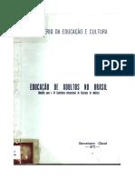 Educação de Jovens e Adultos No Brasil