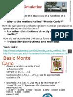 Monte Carlos simu. slides stats