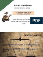 Normatividad de La Actividad Minera II