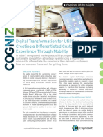 Digital Transformation for Utilities