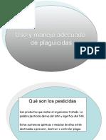 UIso y Manejo de Plaguicidas, Conceptos, Definiciones