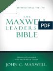 NIV, The Maxwell Leadership Bible - 1 & 2 Timothy