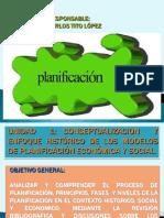 Conceptualizacion y Enfoque Histórico de Los Modelos de Planificación Económica y Social.