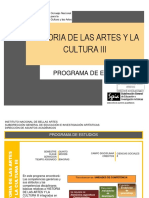 Historia Artes Cultura 3 y4