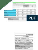 Estimación Del Programa de Actividades - Mayo