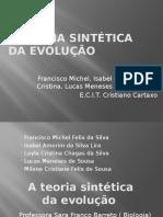 A Teoria Sintética Da Evolução Slide