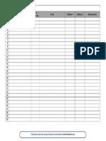 4 Lista Con Datos