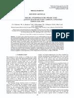 THE PRESSURE-TEMPERATURE TRANSFORMATION DIAGRAM FOR CARBON