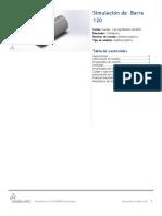Barra 120-Análisis Estático 1-1
