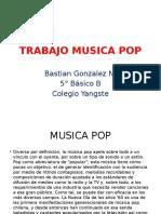 Trabajo Musica Pop