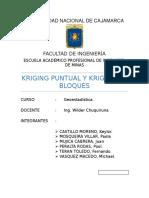 Krigin Puntual y Bloques