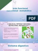 Patrón Funcional Nutricional -Metabólico