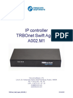 TRBOnet Swift Agent A002.M1 User Guide ENG